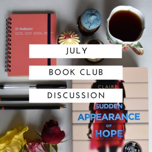 July Discussion Sudden appearance of hope
