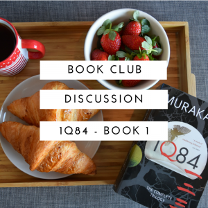 August Discussion 1Q84 Part 1