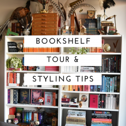 Bookshelf Tour and Styling Tips