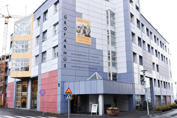 Reykjavik Library front