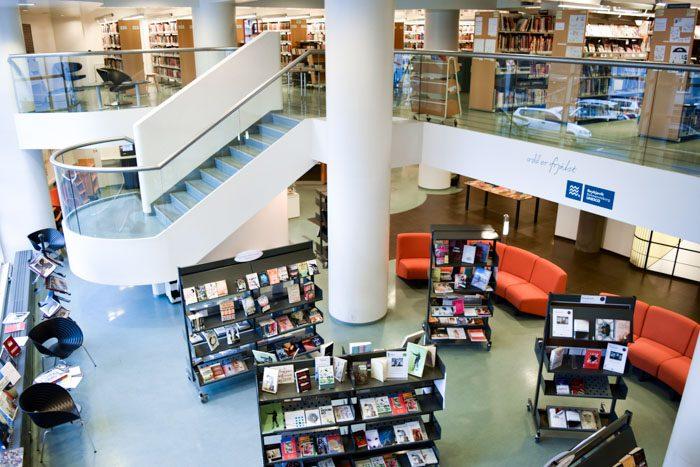 Reykjavik Library interior