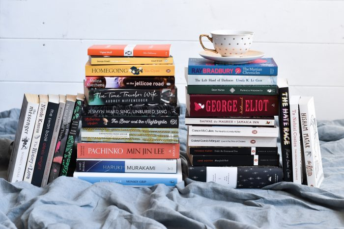 30 Books to Read Before 30. A large stack of 30 books I want to read before I turn 30.