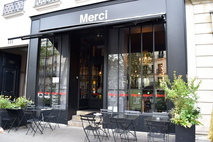 Photo of the front of Merci Used Book cafe