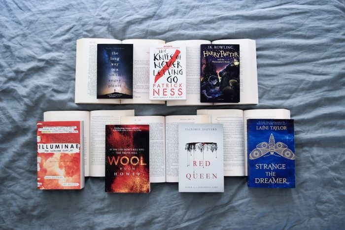 7 book series that I finished in 2018