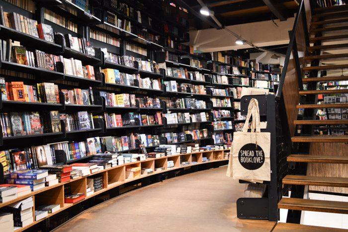 Photo of the American Book Center interior