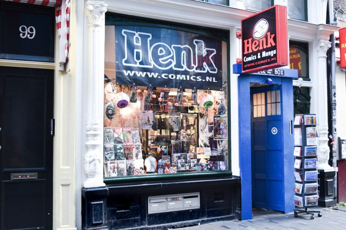 Photo of Henk Comics front