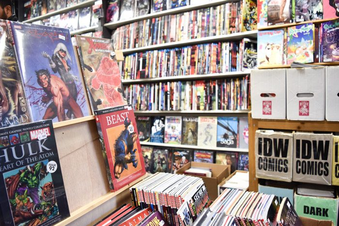 Photo of Henk comics interior
