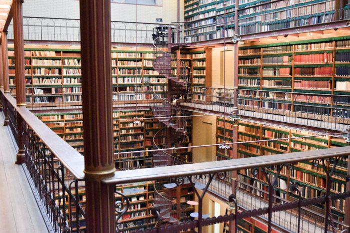 Photo of Rijksmuseum Library interior