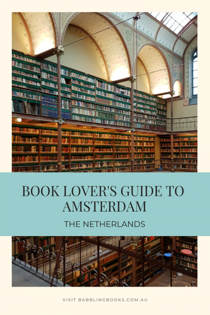 Book Lover's Guide to Amsterdam, The Netherlands. Discover the best bookshops and libraries in Amsterdam, all in one handy guide.