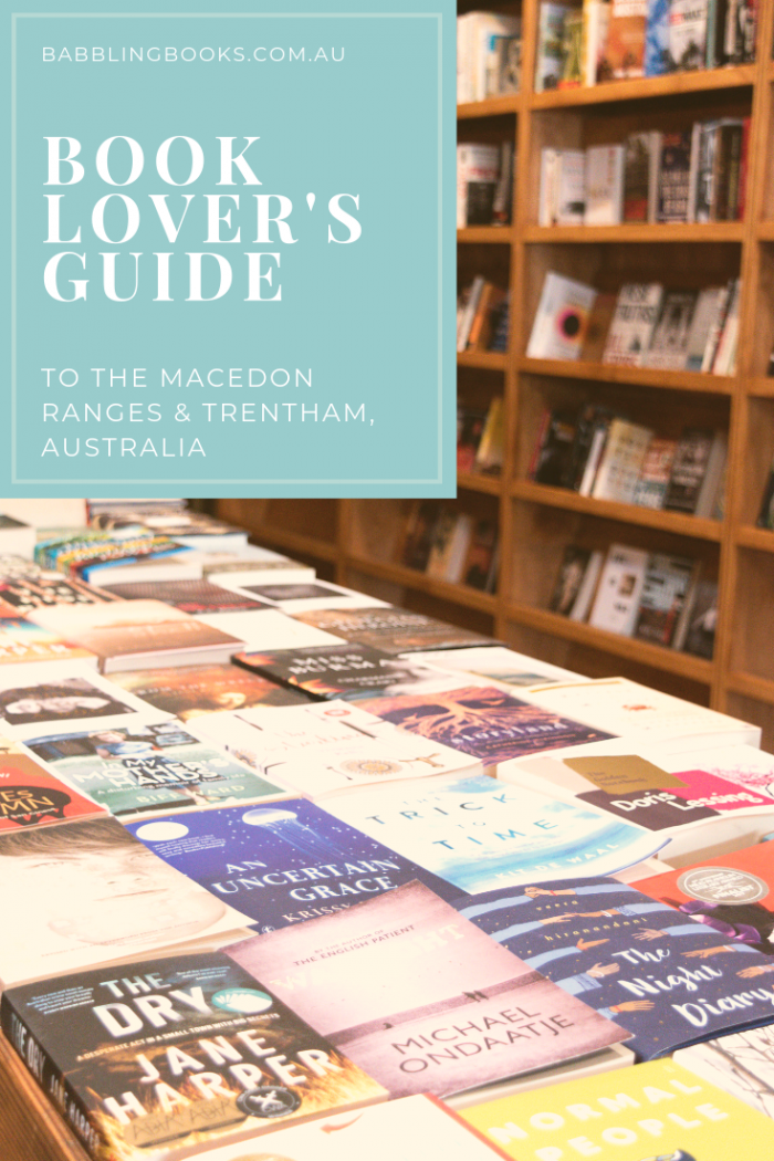 Book Lover's Guide to the Macedon Ranges & Trentham, Australia. Explore local bookshops.