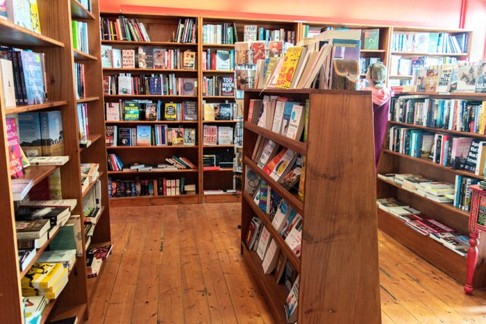 Picture of the interior of Ironbird Bookshop