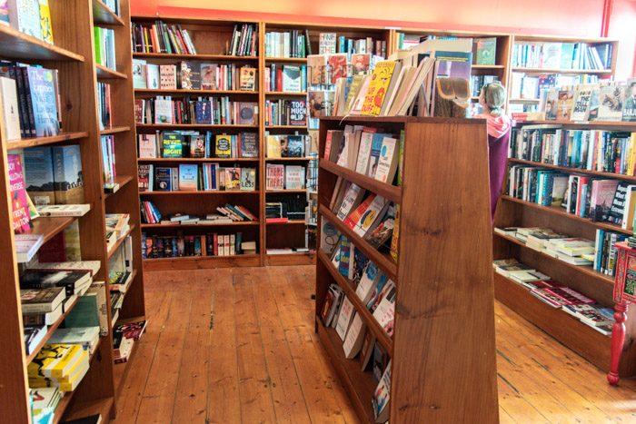 Picture of the interior of Ironbird Bookshop
