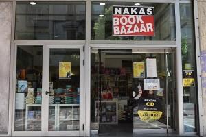 Nakas Book Bazaar front
