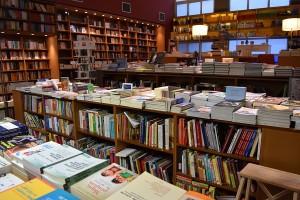 Pataki bookstore inside