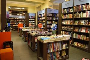 Public bookstore Athens inside