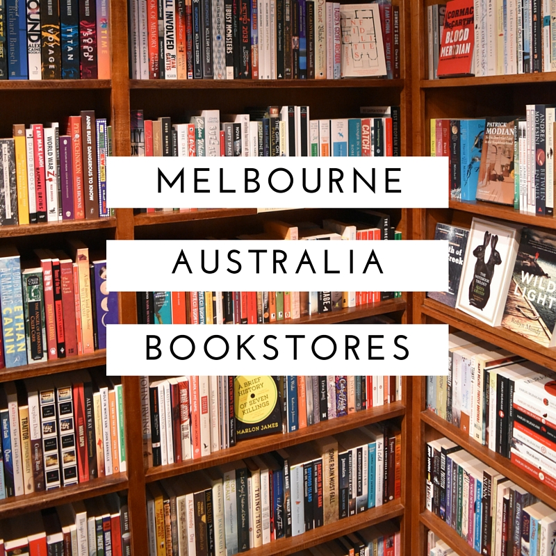 Melbourne Australia Bookstores