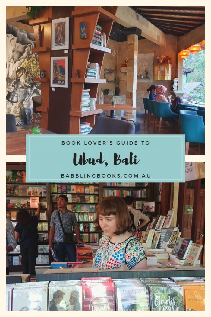 Book Lover's Guide to Ubud, Bali, Indonesia.