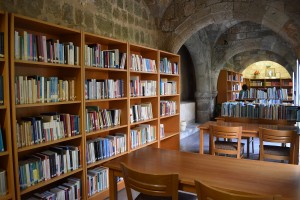 Rhodes Library - inside